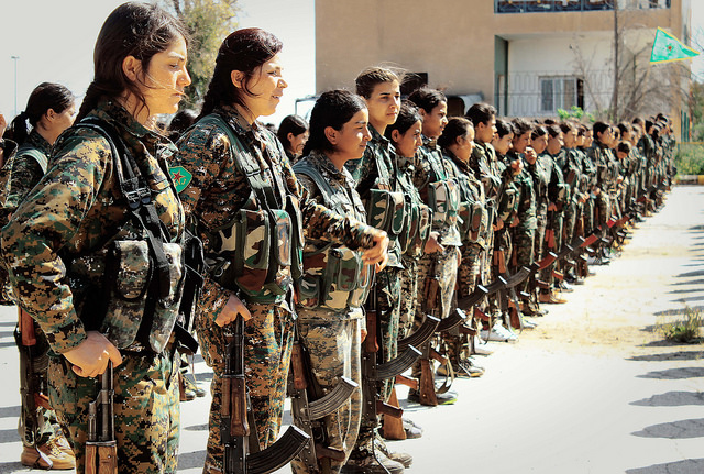 Badass Women Not Enough People Are Talking About: Women in Kurdistan
