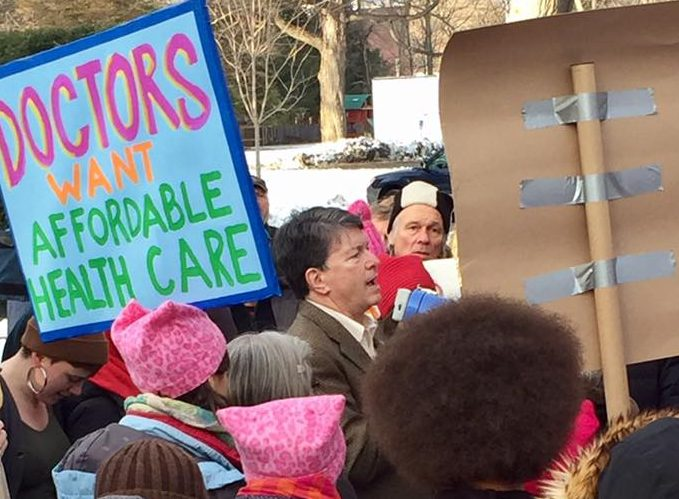 How the health care struggle is building a broad anti-Trump resistance