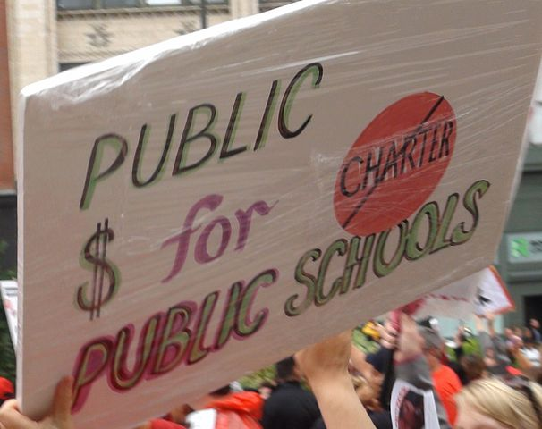 kentucky  oklahoma teachers rally against war on public education  photos