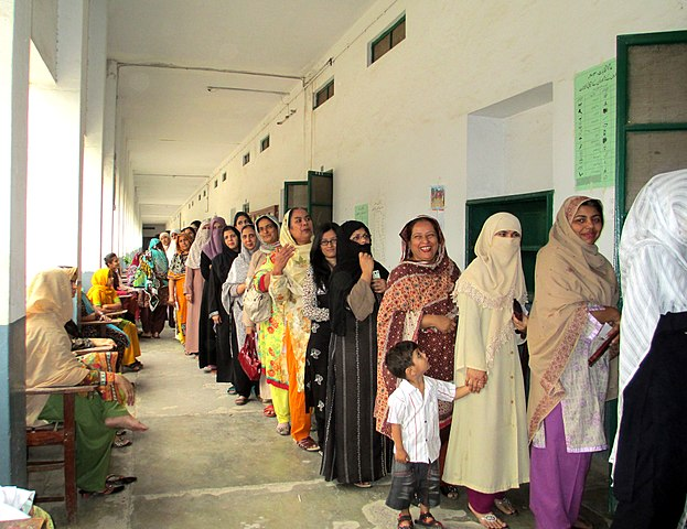 For First Time In Decades Some Pakistani Women Vote Greed